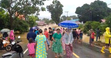Banjir Landa Beberapa Kawasan di Tanah Laut
