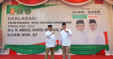 Banjarmasin Bangkit Abdul Haris Makkie Ilham Nor