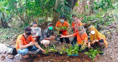 Hari Peduli Sampah Nasional KTH Gunung Priangan KPH Tanah Laut Kalsel