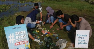 Sampah Plastik Environmental Green Society Kalsel Today.co.id