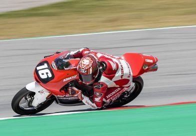 Mario Suryo Aji CEV Moto3 pole position