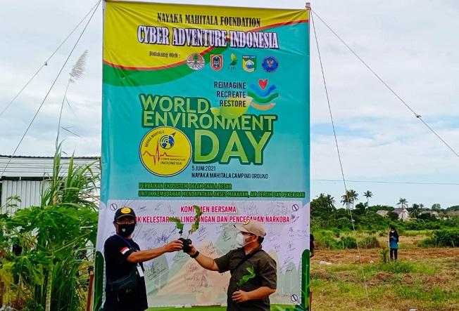Hari Lingkungan Hidup Sedunia Ecosystem Restoration