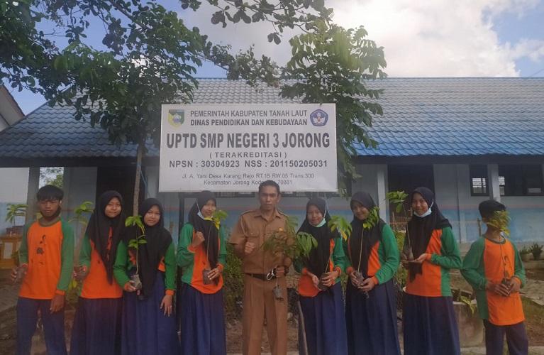 SMP Negeri 3 Jorong Hari Lingkungan Hidup Sedunia